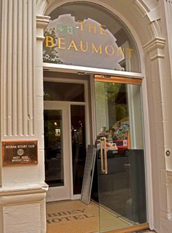 Beaumont Hotel entrance