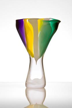 Colour Streams vase - Open