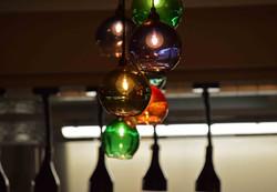 Beaumont Hotel Resturant Lights detail
