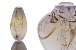 Smoke Trail Vase and Pot detail