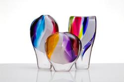 Colour Stream Vases