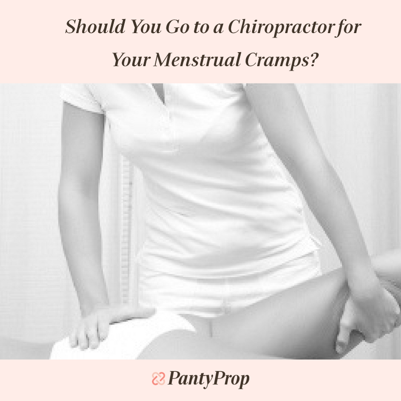 chiropractor for menstrual cramps, chiropractic medicine for menstrual cramps, chiropractor for period pain, chiropractic medicine for period pain, period panties, pantyprop, panty prop