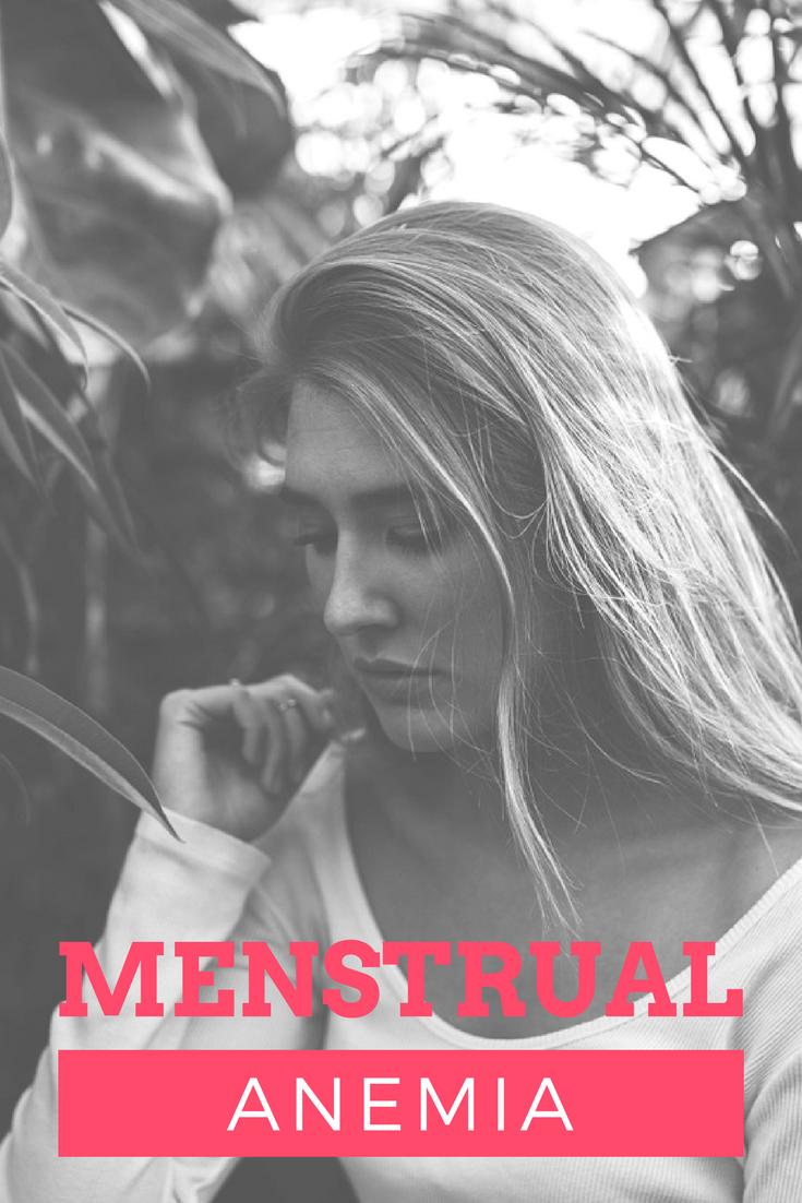 pantyprop, panty prop, anemia, menstruation anemia, menstrual anemia,