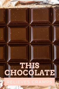 Frauenmond bar, chocolate bar, chocolate for menstrual cramps, chocolate for cramps, chocolate for periods, chocolate for period pain, period panties, pantyprop, panty prop