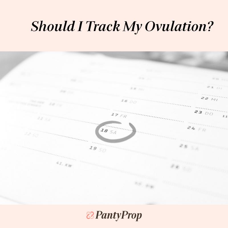 ovulation tracker, tracking ovulation, ovulation tracker app, ovulation charting, pantyprop, panty prop, period panties