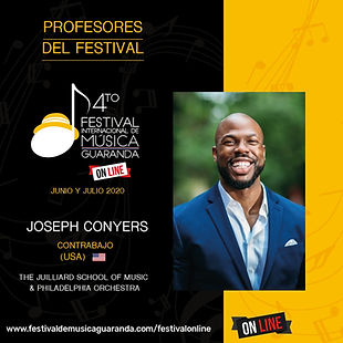 Joseph Conyers festival Guaranda