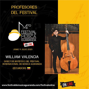 William Valencia Festival Guaranda