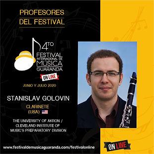 Stanislav Golovin Festival Guaranda