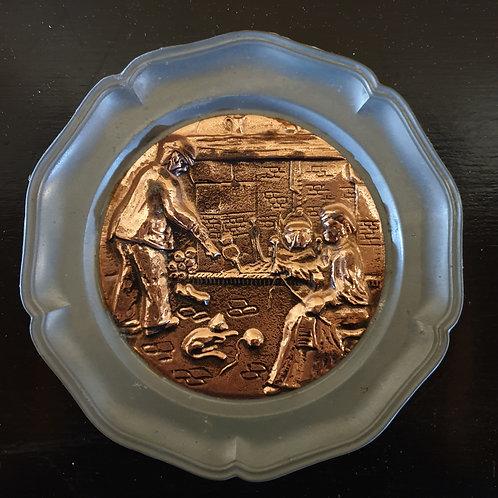pewter + copper treasure