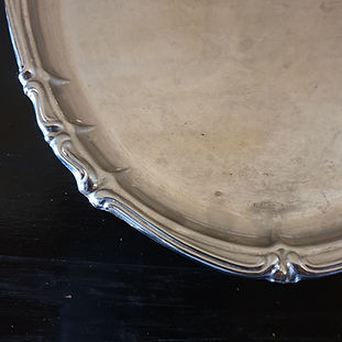 inox stainless steel platter large oval