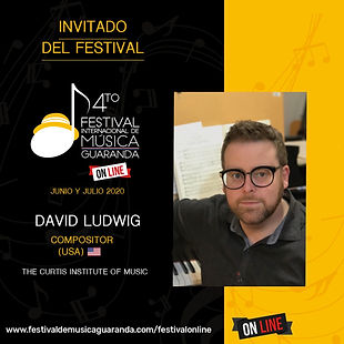 David Ludwing Curtis festival Guaranda