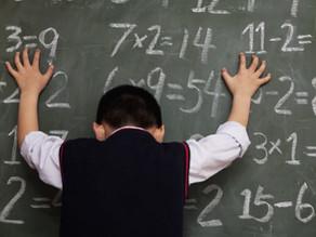 Dificultades con los números: discalculia.