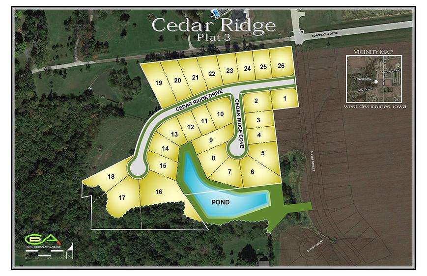 Cedar Ridge Plat 3 - Color Exhibit - 201