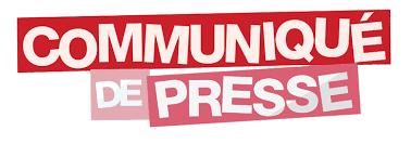 accédez au communiqué de presse ici