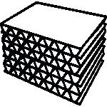 découpe automatique panneaux en structures nid d'abeille