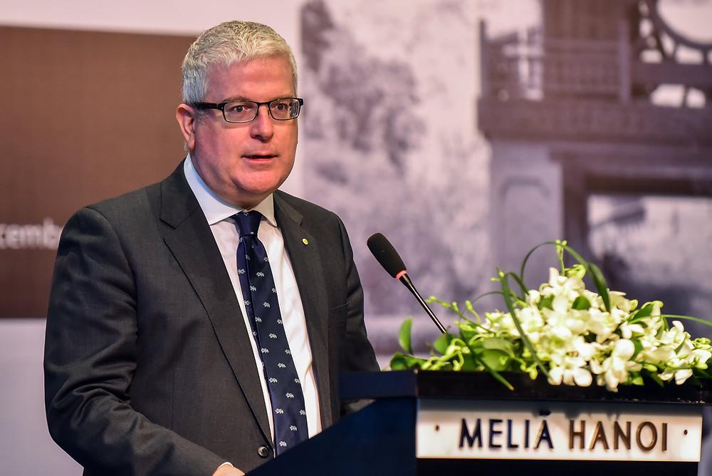 Ambassador Craig Chittick deliver his opening remark