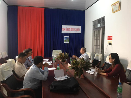 VCAPS 4 - Site visits in four provinces