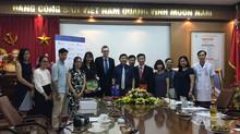 Viện Nghiên cứu Y khoa Woolcock ký kết biên bản ghi nhớ với Bệnh viện Bạch Mai
