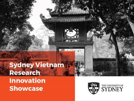 The Sydney Vietnam Research Innovation Showcase 2018