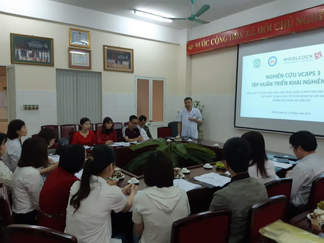 Training on VCAPS 3 for healthcare workers