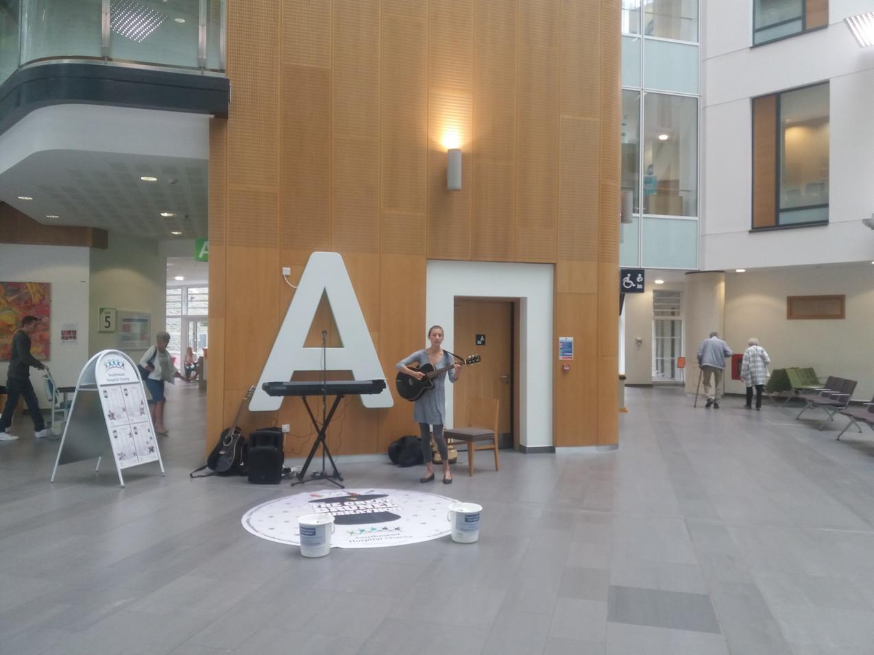 Hospital Atrium Music Performance