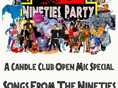 90s Open Mic!