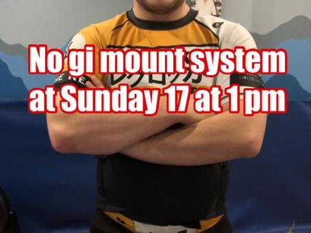 No gi mount system