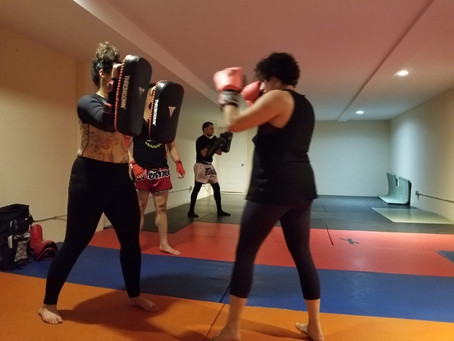 Come to try a Muay Thai class this Tuesday