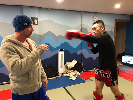 Muay Thai class is growing