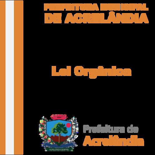 Emenda a Lei Orgânica nº 08/2019 de 05 abril 2019