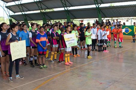 Escolas da rede Municipal e Estadual participam dos Jogos Escolares 2017 em Acrelândia
