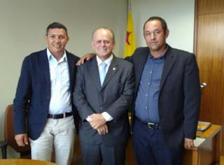 Vice-prefeito de Acrelândia, Marquinhos, vai a Brasília em busca de recursos