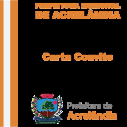 CC N° 005/2019 Construção da Pista de Atletismo e Estacionamento