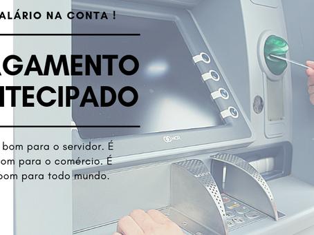 Prefeito Ederaldo Caetano antecipa pagamento da folha de abril para antes do aniversário da cidade