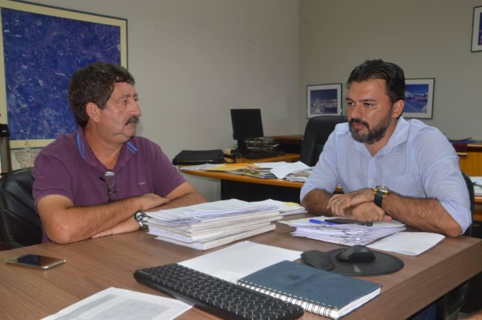 Ederaldo Caetano (Prefeito de Acrelândia) e Engenheiro Thiago Caetano (Secretário de Estado de Infraestrutura)