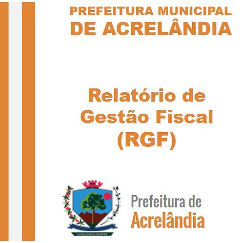 RGF 2020 - 3º Quadrimestre