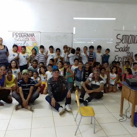 Programa Saúde na Escola realiza ações na Escola Municipal Centralizada Rita Bocalom
