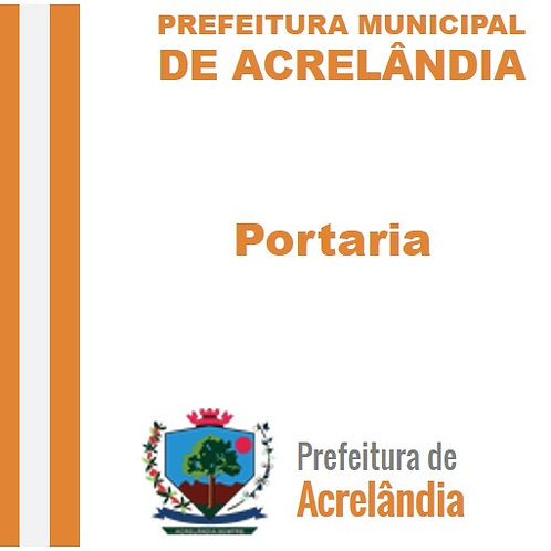 Portaria N° 097/2019 - AABEX MARTINS RIBEIRO