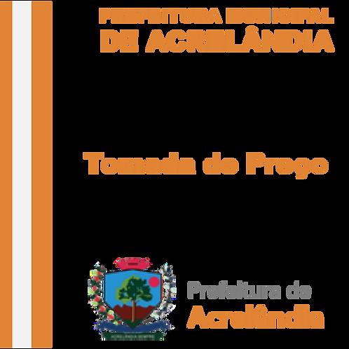 TP 02/2020 Recapeamento de ruas, Contrato de Repasse nº 896645/2019