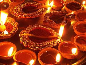 Divali Fête des lumières en Inde