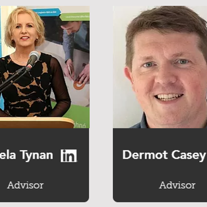 Angela Tynan and Dermot Casey join DigitalHQ's Advisory Panel