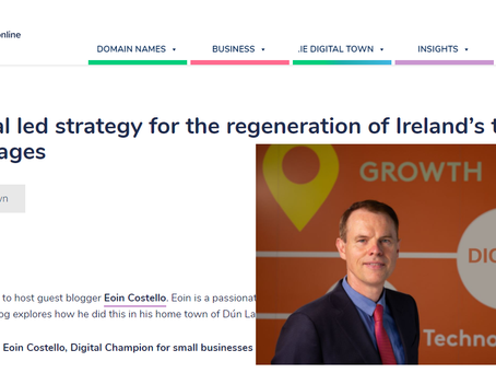 How digital can support local jobs in local communities - our model highlighted by .IE