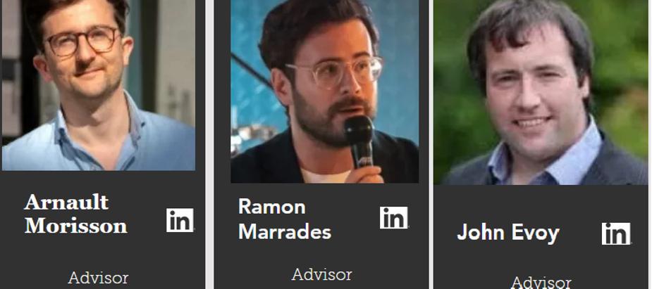 EU thought leaders A. Morisson & Ramon Marrades join social entrepreneur John Evoy on advisory panel