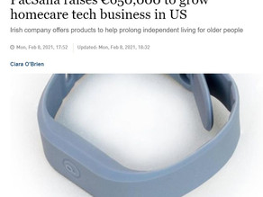 Member Company News - PacSana Featured in The Irish Times for Rising €650,000 to Grow Tech Business