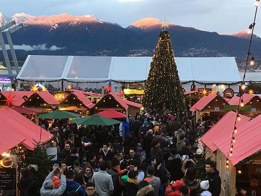 Vancouver Christmas Market 2018.Smile Vancouver Christmas Market