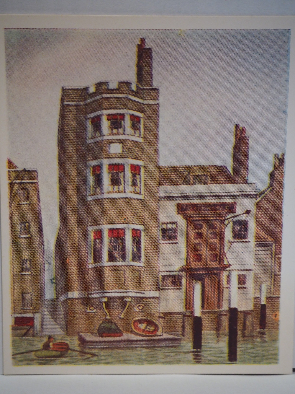 Wapping Marine Police Station, Lawson Stewart, Our Mutual Friend