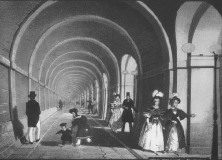 Thames Tunnel mid-nineteenth century
