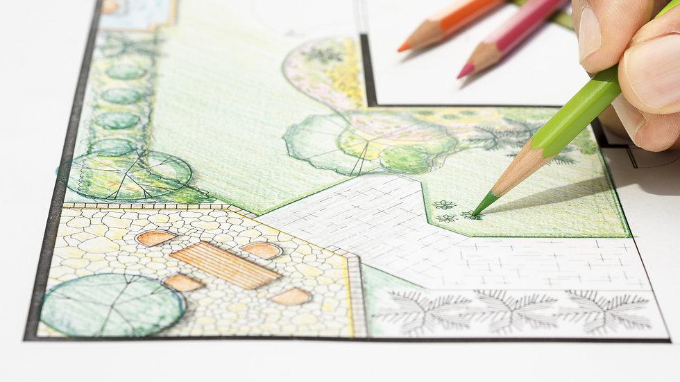 Landscape Design, Lot Size 7,500 - 15,000 SQF