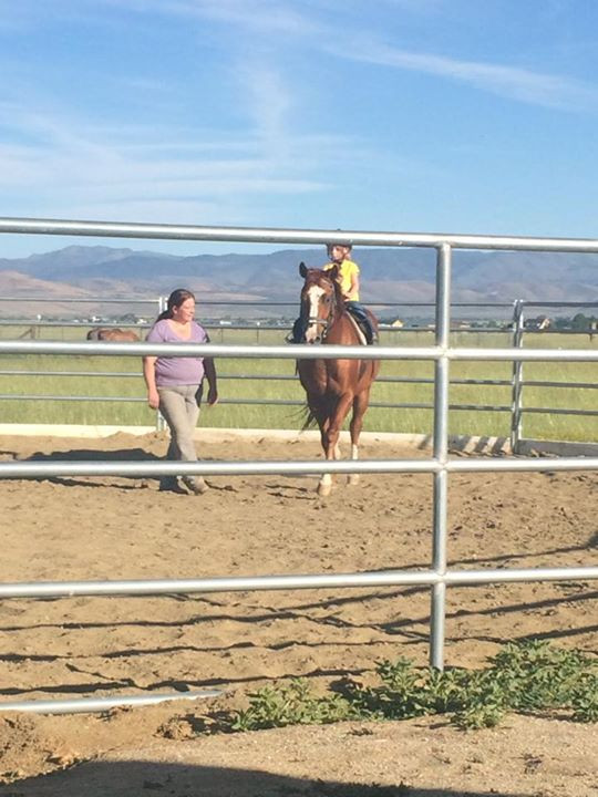 Chipper and jennifer having a great lesson _-)