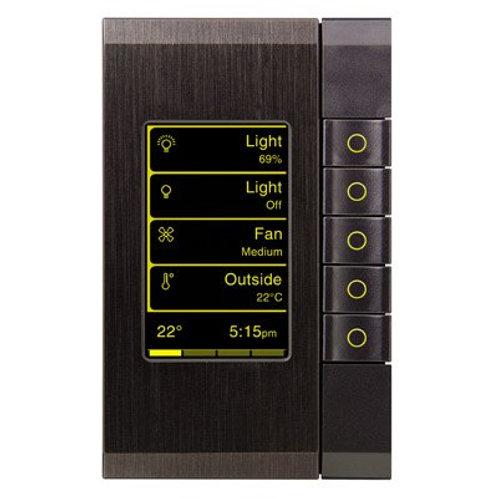 5-клавишный выключатель eDLT с экраном,